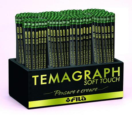 LÁPIZ TEMAGRAPH SOFT-TOUCH PACK ESCOLAR (288 unidades)