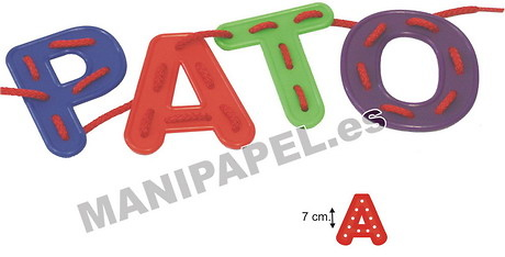 LETRAS ALFABETO PARA COSER (26 unidades)