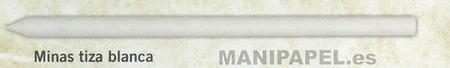 MINAS CRETA BLANCA (TIZA) (6 unidades)