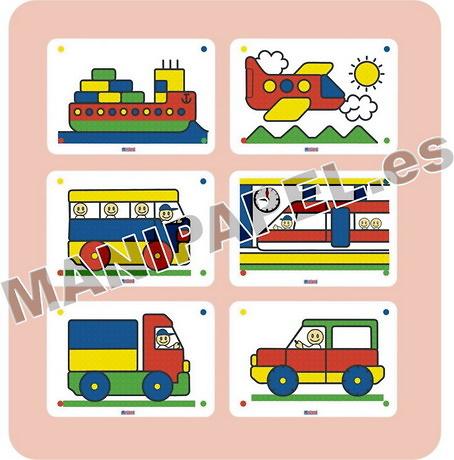 PACK 6 LÁMINAS DE DIBUJOS (6 unidades)