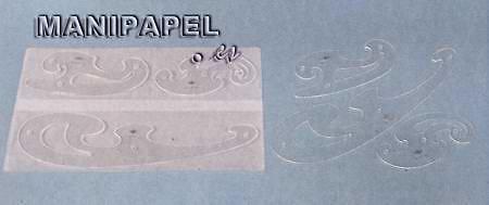 PLANTILLAS DE CURVAS CRISTAL (3 unidades)