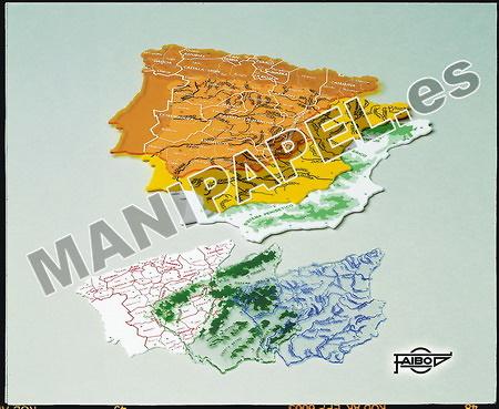 PLANTILLAS MAPA DE ESPAÑA