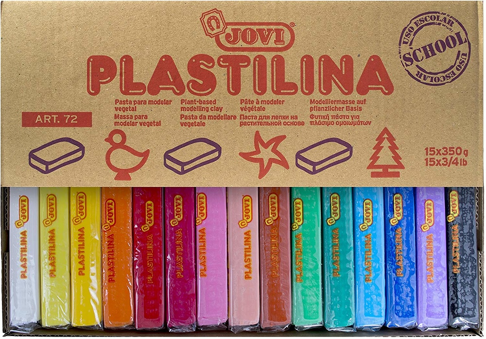 PLASTILINA Nº72 (Pastillas grandes)