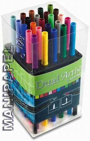 ROTULADORES PINCEL DUAL ARTIST (25 unidades)