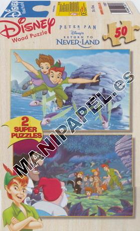 SUPER PUZZLES DISNEY 50 PIEZAS
