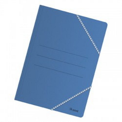 CARPETA CARTULINA BASIC FOLIO AZUL
