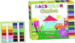 CERAS DACSCOLOR ECONOMIC PACK (288 unidades)