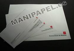 CORRESPONDENCIA OFICIAL COMUNIDAD DE MADRID