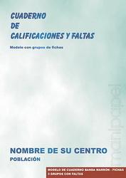 CUADERNO DE PROFESOR CON GRUPOS DE FICHAS
