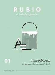 CUADERNOS RUBIO ESCRITURA DE 0 A 010