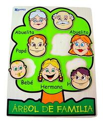 ENCAJE ÁRBOL DE FAMILIA