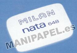 GOMA DE BORRAR MILAN 648 NATA ( 1 unidad )