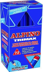 JUNIOR TRIANGULAR MAXI PACK ESCOLAR (72 unidades)