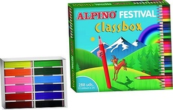 LÁPICES DE COLORES FESTIVAL ECONOMIC PACK (288 unidades)
