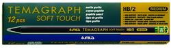 LÁPIZ TEMAGRAPH SOFT-TOUCH (12 unidades)