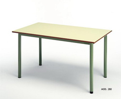 MESA LECTURA - COMEDOR TABLERO 120x80 cm