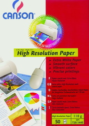 PAPEL INK JET ALTA RESOLUCIÓN