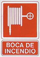 PLACAS DE SEÑALIZACIÓN NORMALIZADA FLUORESCENTE