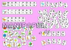 PUZZLE BUSCA LAS LETRAS (4+)