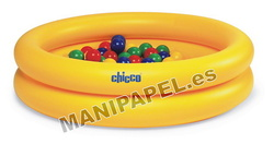 SET PISCINA CON BOLAS